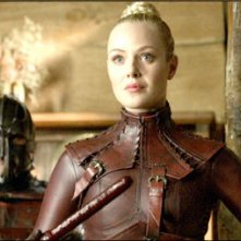 Jessica Marais nel ruolo della Mord'Sith Denna, nell'episodio 'Bloodline' della serie tv Legend of the Seeker
