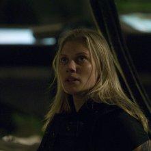 Katee Sackhoff è Starbuck nell'episodio 'Daybreak: Part 2', finale della serie Battlestar Galactica