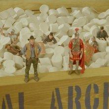 Owen Wilson e Steve Coogan in una sequenza di Una notte al museo 2: la fuga