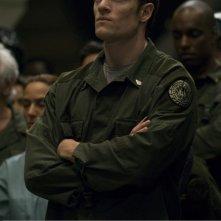 Tahmoh Penikett nell'episodio 'Daybreak: Part 1' dell'ultima stagione di Battlestar Galactica