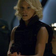 Tricia Helfer nell'episodio 'Daybreak: Part 2', finale della serie Battlestar Galactica