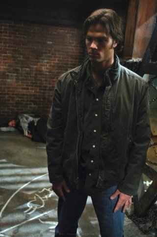 Jared Padalecki nell'episodio On the Head of a Pin di Supernatural