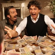 Francesco Ciampi e Alessandro Paci in una scena del film Cenci in Cina