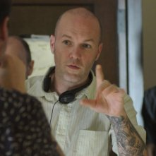 Il regista Fred Durst sul set del film The Education of Charlie Banks