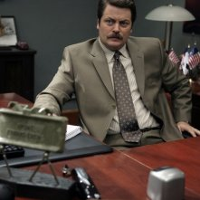 Nick Offerman nel pilot di Parks and Recreation