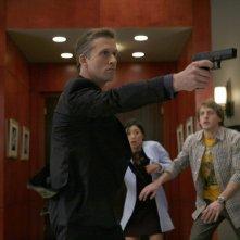 Reed Diamond in una scena dell'episodio Spy in the House of Love di Dollhouse