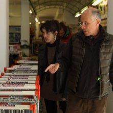 Anna Bellato e Gabriele Salvatores set del corto 'Stella' che fa parte del progetto PerFiducia