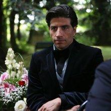Claudio Castrogiovanni in una scena della serie tv Squadra Antimafia - Palermo oggi