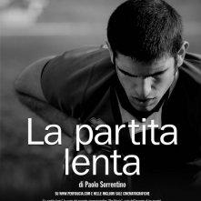 Il poster del corto 'La partita lenta' di Paolo Sorrentino pèer il progetto PerFiducia