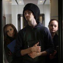 Stefania Berselli, Matteo Bessone e Maral Kinran nel corto 'Il premio' di Ermanno Olmi, parte del progetto PerFiducia