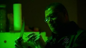 Laurence Fishburn nell'episodio 'Turn, Turn, Turn' della nona stagione di CSI - Las Vegas