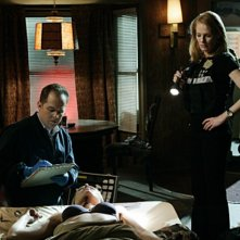 David Berman e Marg Helgenberger nell'episodio 'Kill me if you can' della serie tv CSI - Las Vegas
