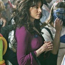 Liz Vassey nel ruolo di Wendy, durante una convention sci-fi nell'episodio 'A Space Oddity' della serie tv CSI: Crime Scene Investigation