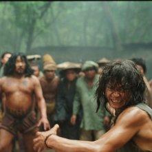 Scena del film Ong Bak 2, presentato in anteprima al Far East Film Festival 2009