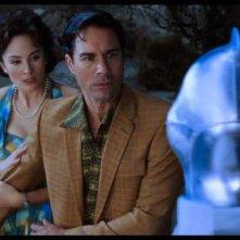 Jody Thompson e Eric McCormack in una scena del film Alien Trespass