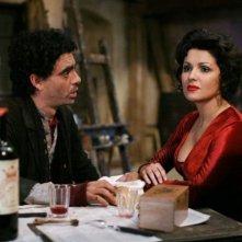 Le star della lirica Anna Netrebko e Rolando Villazón in una scena de 'La Bohème - Il film'