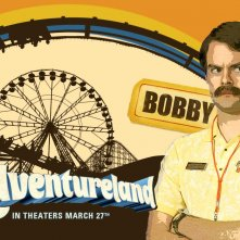 Un wallpaper del film Adventureland con Bill Hader
