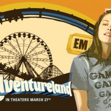 Un wallpaper del film Adventureland con Kristen Stewart