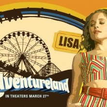 Un wallpaper del film Adventureland con Margarita Levieva
