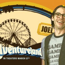 Un wallpaper del film Adventureland con Martin Starr