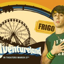 Un wallpaper del film Adventureland con Matt Bush