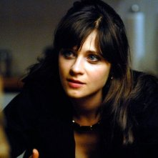 Zooey Deschanel in una scena del film Gigantic