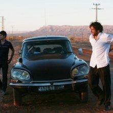Adriano Giannini ed Emanuele Bosi attraversano il Marocco con la loro auto in La casa sulle nuvole
