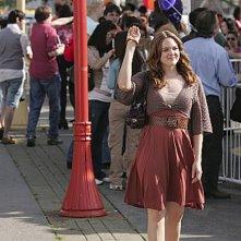 April Matson nel ruolo di Lori Trager in una sacena dell'episodio 'Udito straordinario' della serie tv Kyle XY
