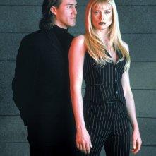 Roy Dupuis e Peta Wilson nel serial tv La Femme Nikita