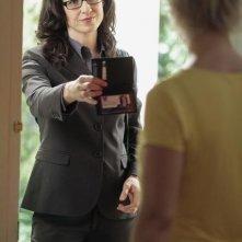 Anna Galvin in una scena dell'episodio 'Grounded' della seconda stagione della serie televisiva Kyle XY