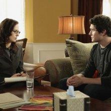 Anna Galvin insieme a  Matt Dallas in una scena dell'episodio 'Grounded' della seconda stagione della serie televisiva Kyle XY