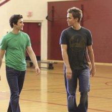 Chris Olivero e Matt Dallas in un momento dell'episodio 'Grey Matters' della serie tv Kyle Xy