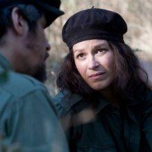 Franka Potente in una sequenza del film Che - Guerriglia