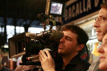 Il regista Massimo Venier sul set del film Generazione mille euro