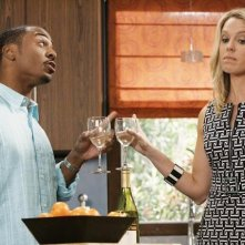 RonReaco Lee e Jessica St. Clair nell'episodio Shepfather di In the Motherhood