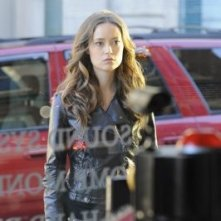 Summer Glau in una scena dell'episodio Adam Raised a Cain di Terminator: The Sarah Connor Chronicles
