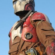 Uno dei futuristici soldati protagonisti di Hunter Pray
