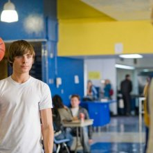 Zac Efron in una sequenza di 17 Again - Ritorno al Liceo