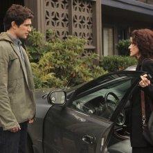 Ally Sheedy insieme a  Matt Dallas nell'episodio 'Hello...' della serie tv Kyle XY