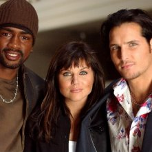 Bill Bellamy, Tiffani Amber-Thiessen e Peter Facinelli in una immagine della serie tv Fastlane