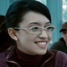 Christian Serratos in una scena del film Twilight