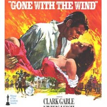 La locandina di Via col vento