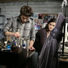 Matt Dallas e Jaimie Alexander nell'episodio 'Ive Had the Time of My Life' della seconda stagione di Kyle XY