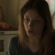 Isabella Tabarini in una scena del film Fuga dal call center