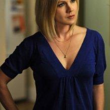 Jennie Garth in una scena dell'episodio Off the Rails di 90210