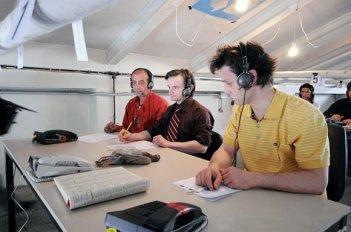 Un'immagine del film Fuga dal call center