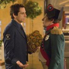 Ben Stiller alle prese con l'imperatore Napoleone in Una notte al museo 2: la fuga