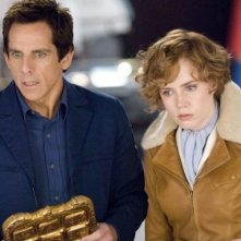 Ben Stiller e la bella Amy Adams in una scena di Una notte al museo 2: la fuga