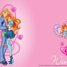 Bloom e Sky in un wallpaper della serie Winx Club