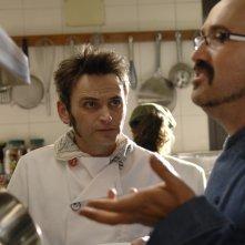 Gli chef Javier Camara e Fernando Tejero protagonisti di Fuori menù